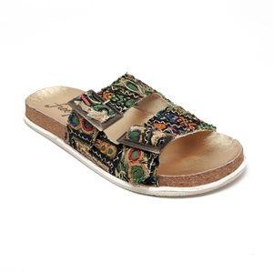 Free People Bali Footbed Sandals Womens 40EU 10US